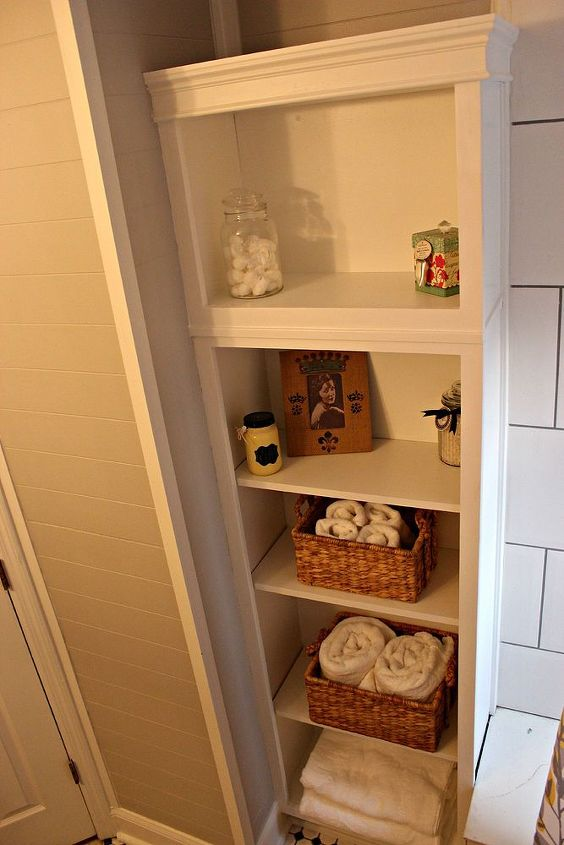 bathroom ideas update redo before after, bathroom ideas, shelving ideas, small bathroom ideas