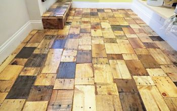 pallet floors redo flooring, diy, flooring, hardwood floors, pallet, repurposing upcycling, woodworking projects