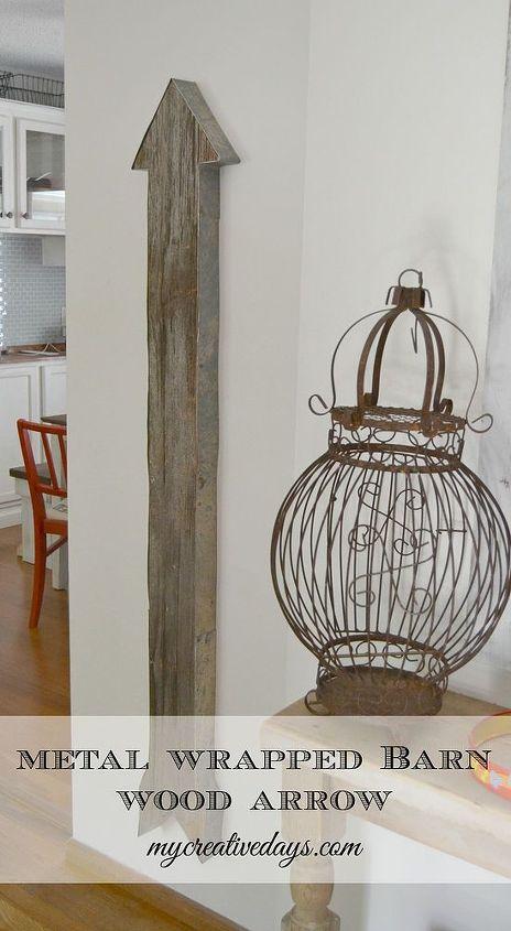 wall art barn wood arrow, diy, home decor, repurposing upcycling, wall decor, woodworking projects