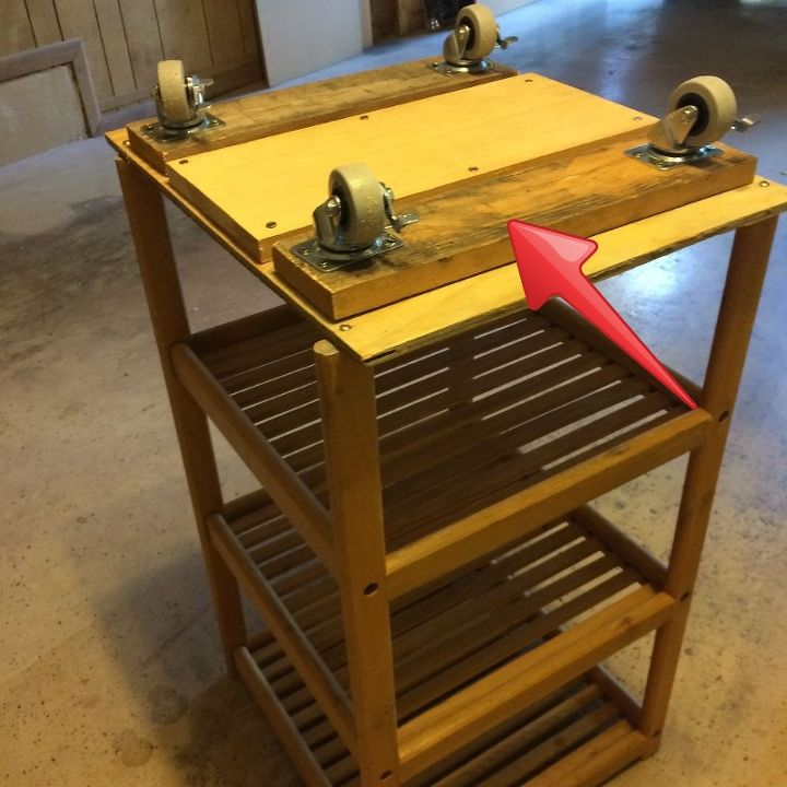 woodworking portable tool caddy wheels, diy, organizing, repurposing upcycling, storage ideas, tools, woodworking projects