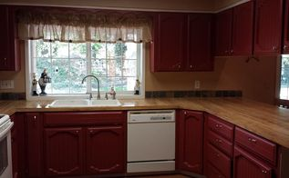 kitchen cabinets paint makeover, kitchen cabinets, kitchen design, painting