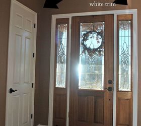 Captivating Doors Painted White Makeover, Doors, Foyer, Paint Colors, Painting