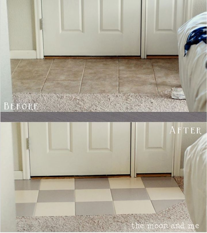 Painting A Ceramic Tile Floor Hometalk