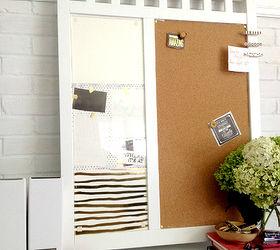 Diy Bulletin Dry Erase Board, Home Decor, Organizing, Repurposing Upcycling