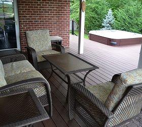 Patio Ideas Hot Tub Jacuzzi, Decks, Outdoor Furniture, Outdoor Living, Patio,  ...