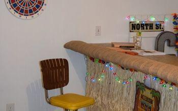 Basement Tiki Bar #basementideas #hometalkeveryday