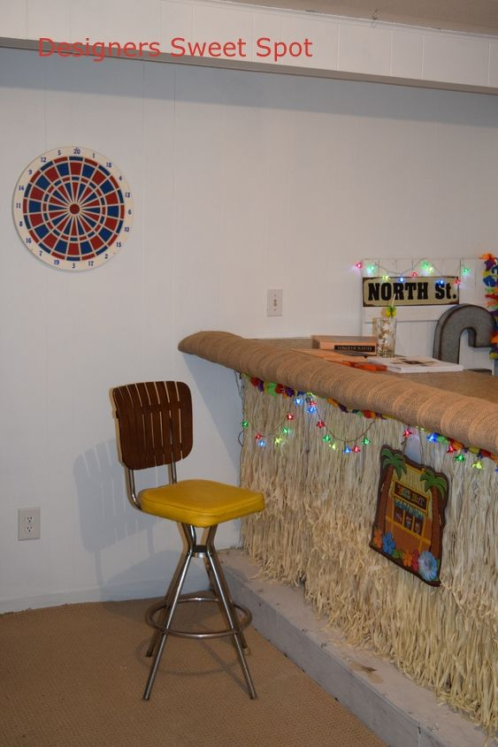 basement ideas tiki bar decor, basement ideas, entertainment rec rooms, home decor