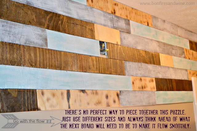 Pallet Plank Wall Bathroom Ideas Diy Repurposing Upcycling