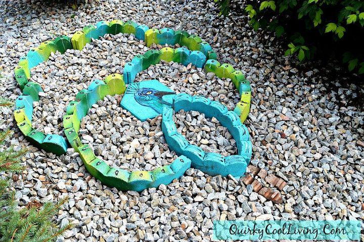 gardening ideas garden art landscaping materials, gardening, repurposing upcycling