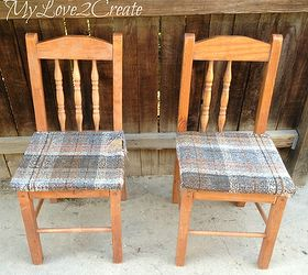 who knew old chairs could look so good diy painted furniture repurposing upcycling & Who Knew Old Chairs Could Look so Good... | Hometalk