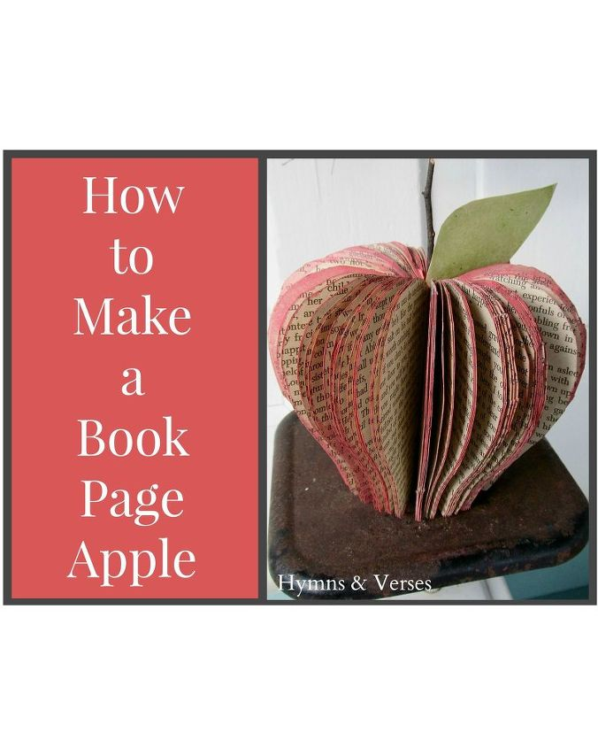 how to make a book page apple hometalk