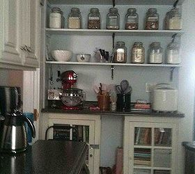 Finished Baking Center Of New Kitchen, Kitchen Design, Shelving Ideas,  Baking Area Of