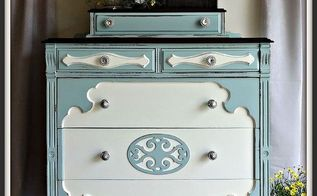 painted furniture chest antique slate, painted furniture, shabby chic
