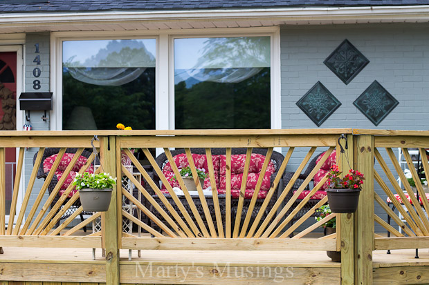 Make your deck unique with a sunburst deck railing hometalk make your deck unique with a sunburst deck railing decks diy woodworking projects solutioingenieria Images