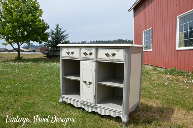 small buffet big makeover, painted furniture