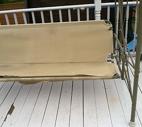 Patio Swing Broken Fix Ideas, Outdoor Furniture, Outdoor Living, Here Is A  Photo