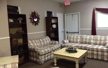 New Pastor's Parlor (sorry, I don't have the before pics)