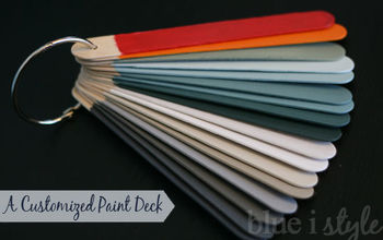 customized paint deck for all the colors in your home, paint colors, painting