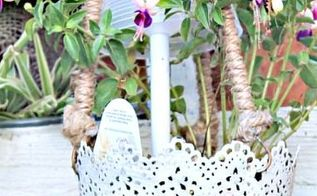 summer crafts project ideas, container gardening, crafts, gardening, repurposing upcycling