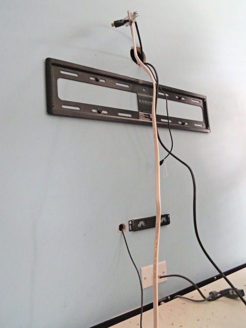How To Hide Tv Cables In Living Room
