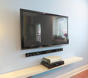 Easy Peasy Hide Your TV Cables and Wires Hometalk
