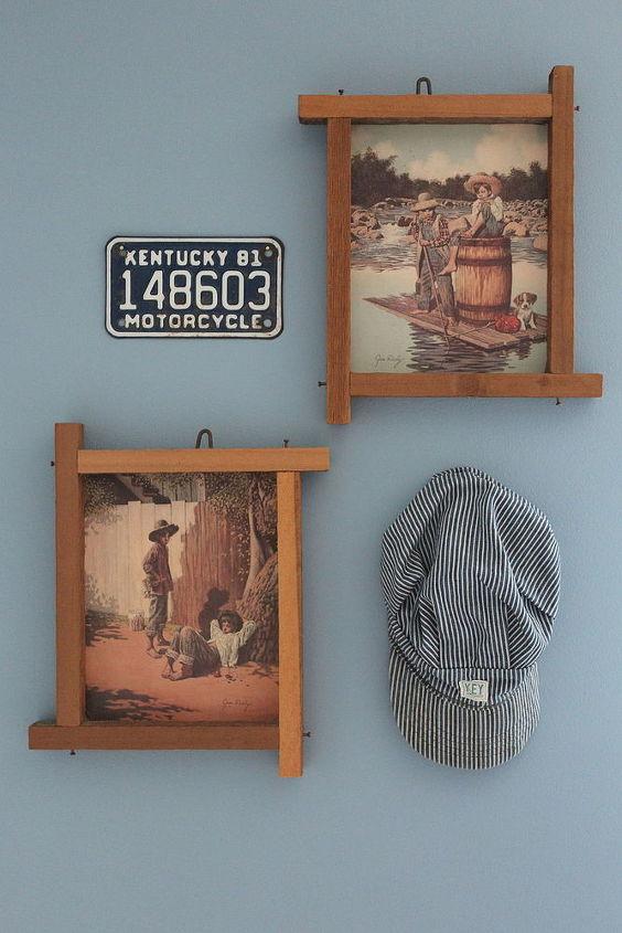 bedroom ideas vintage boys room americana pallets budget, bedroom ideas, painted furniture, patriotic decor ideas