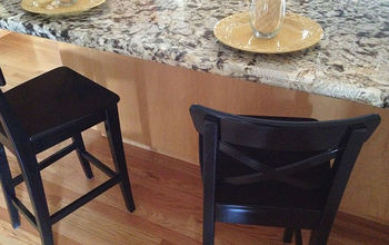 Easy DIY Kitchen Stool Update With Spray Paint