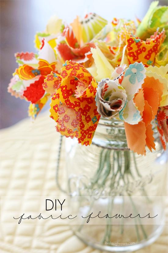 DIY Fabric Flowers | Hometalk