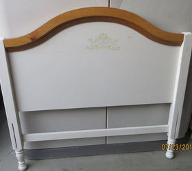 Outdoor Furniture Bench Bed Frame Repurpose Upcycle, Diy, Outdoor  Furniture, Repurposing Upcycling,