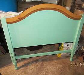 Outdoor Furniture Bench Bed Frame Repurpose Upcycle, Diy, Outdoor  Furniture, Repurposing Upcycling