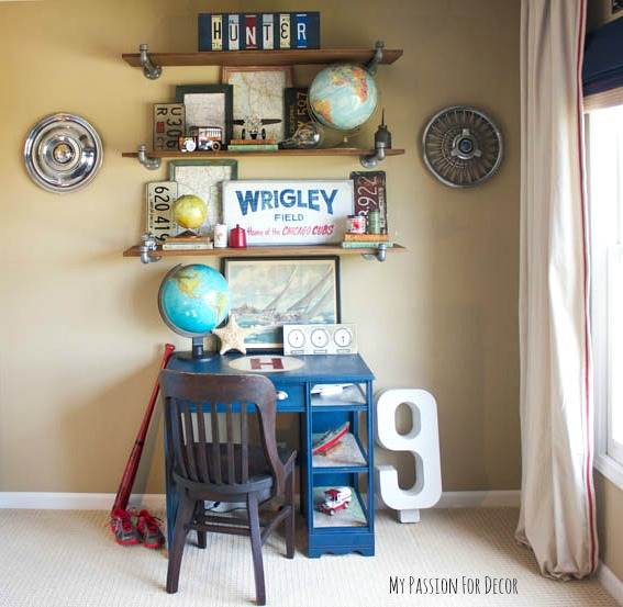 How to decorate a boy 39 s room on a budget hometalk - Cheap decorating ideas for bedroom walls ...