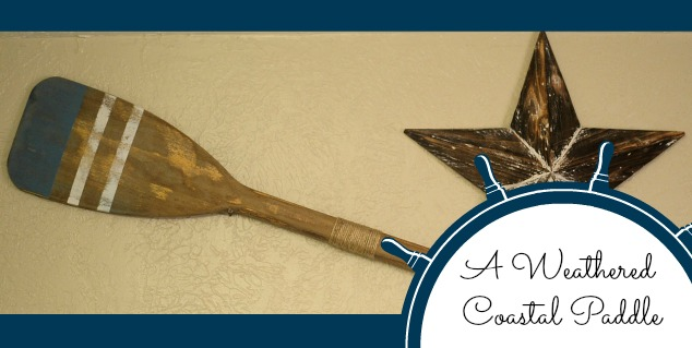 home decor easy coastal oar makeover, home decor