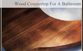 bathroom counter redo wood budget, bathroom ideas, countertops, diy, how to, small bathroom ideas, woodworking projects