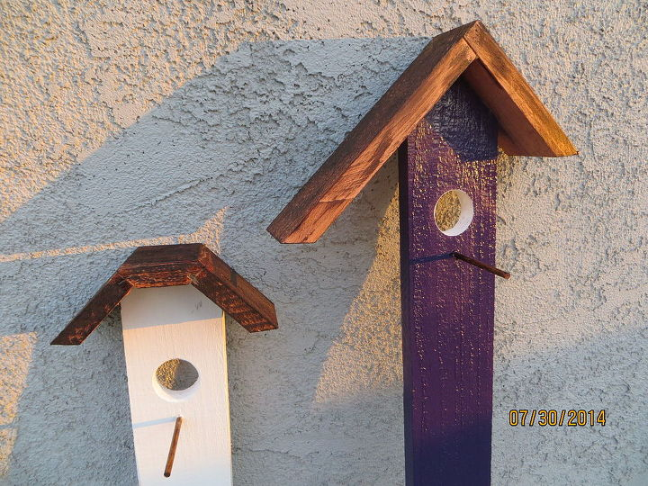 colorful birdhouse trellis, diy, fences, gardening, repurposing upcycling