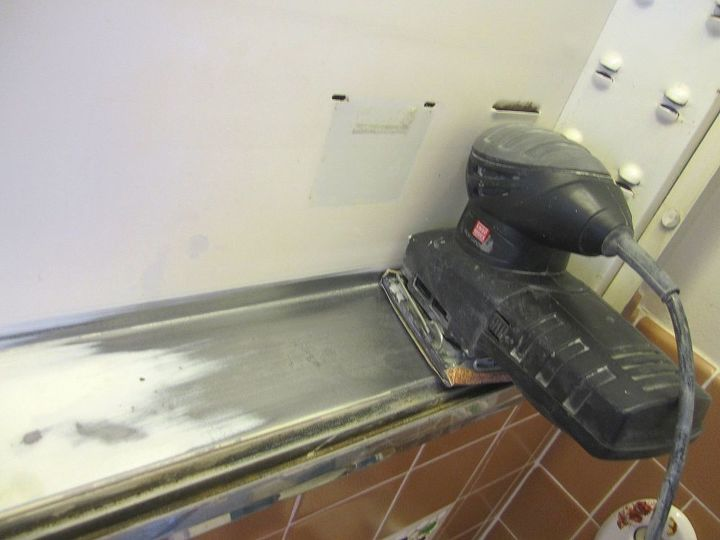 Pic-2. Yep - a power-sander was the way to go