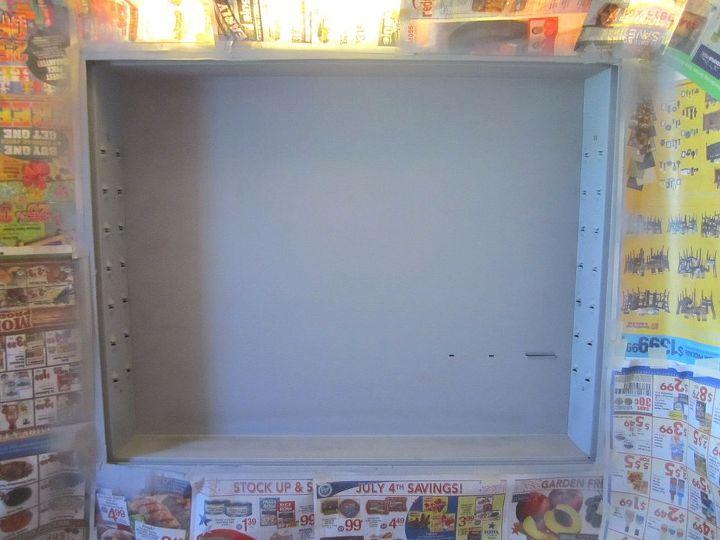 Pic-6. Med Cabinet after Grey Primer coat.