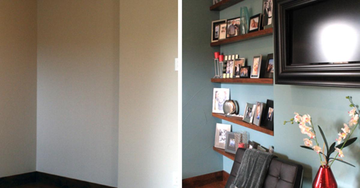 floating frame shelves hometalk