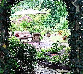 Gardening Backyard Home Whimsical Tour, Flowers, Gardening, Landscape,  Outdoor Furniture, Outdoor