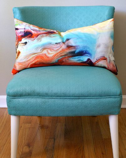 painted furniture chair upholstered tutorial, how to, painted furniture, reupholster