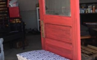 woodworking upcycle bench door, foyer, painted furniture, repurposing upcycling, woodworking projects