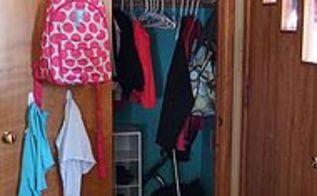 organizing closet backtoschool, closet, foyer, organizing, storage ideas