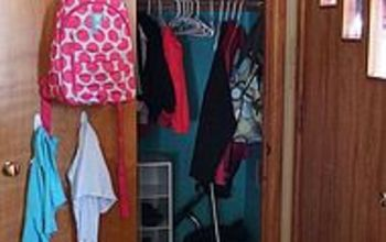 Back-to-School Coat Closet Makeover