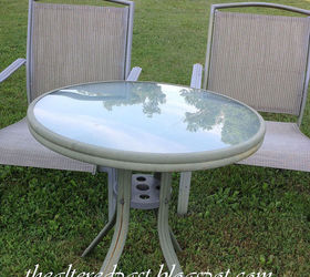 Outdoor Furniture Redo Chair Tables Budget, Outdoor Furniture, Painted  Furniture Part 57