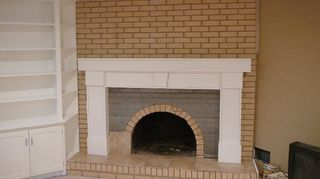fireplace mantle redo update suggestions, fireplaces mantels, home decor, painting