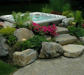 Backyard Ideas Budget Friendly Inspiration, Decks, Outdoor Living, Patio,  Spas, Hot