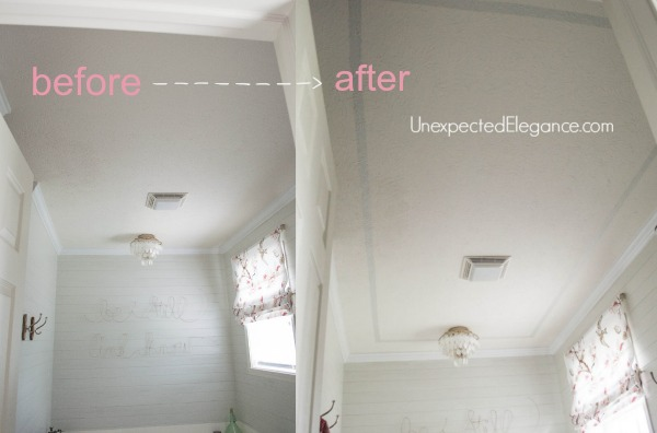 Add Height To Your Ceiling Using Paint Hometalk