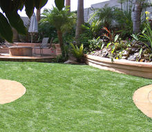 landscaping artificial grass uses, gardening, landscape, lawn care