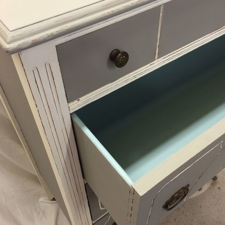 Inside drawer