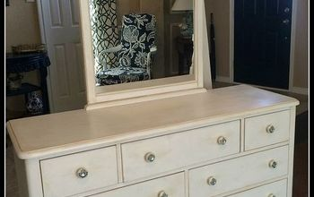 Chalk Paint Bedroom Furniture Makeover