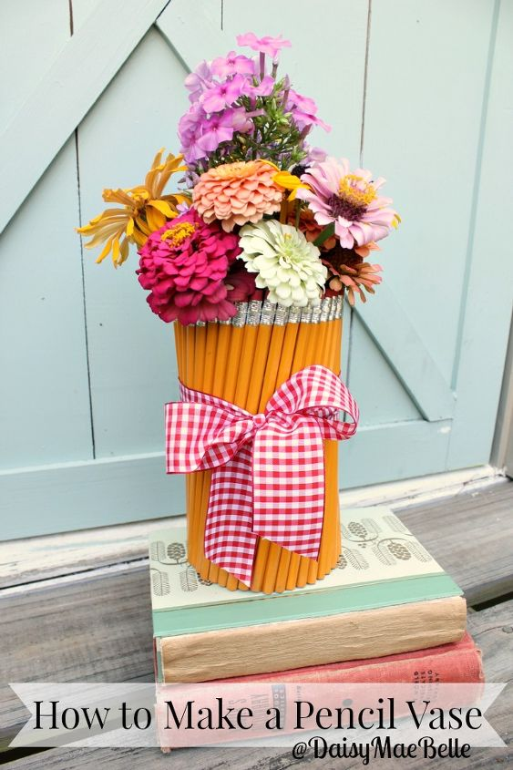 how to make a pencil vase, crafts, how to, repurposing upcycling